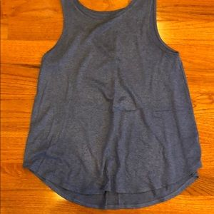 Old Navy Blue Luxe Tank